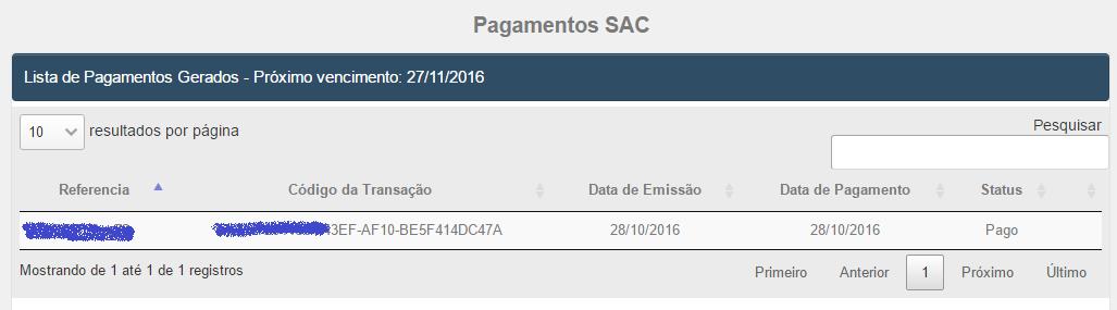 Detalhes Pagamento SAC do ACBr