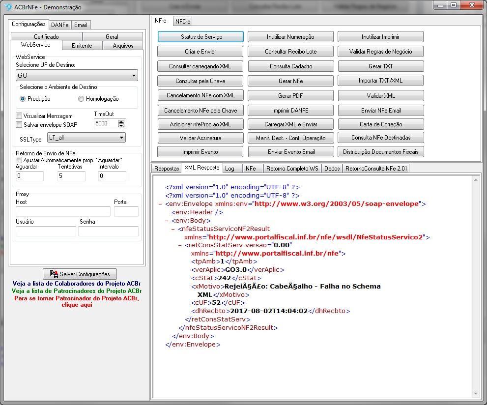 arquivo xml nfe goias